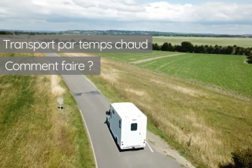 Illustration de Fortes chaleurs, quels impacts sur le transport ?